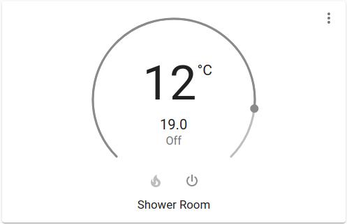Shower Room Controller