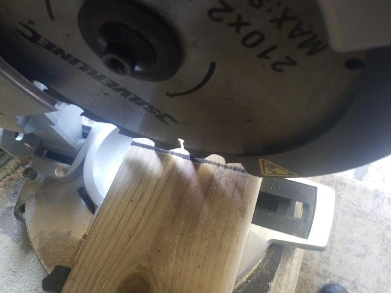 Spinny cutty wheel of wood death