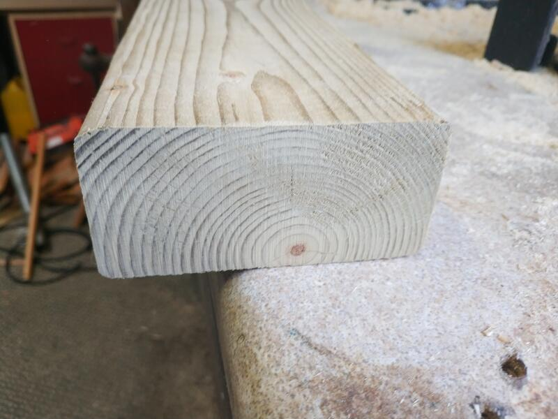 End of a 2x4