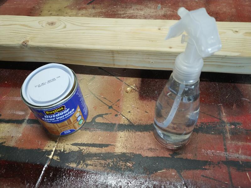 Water and varnish