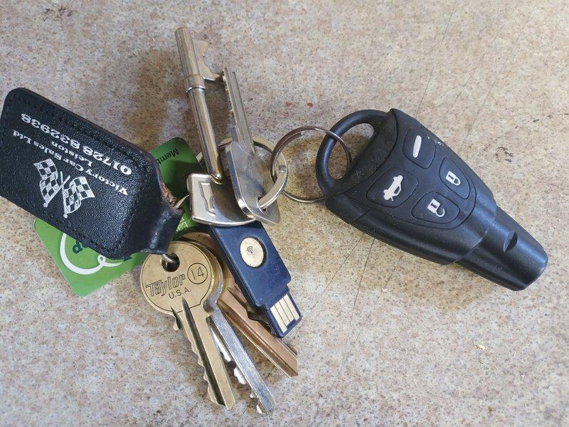 Saab 93 Key